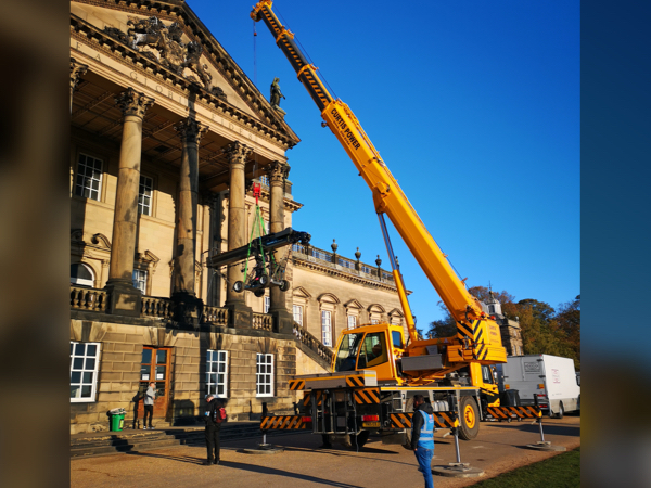 Rotherham Wentworth Woodhouse Grade I Listed Building